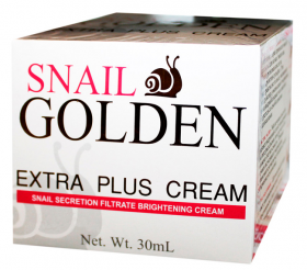 Крем для лица с секретом улитки Snail Golden  Extra Plus Cream, 30 мл