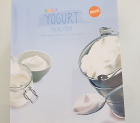 Маска для лица тканевая с Йогуртом Moods Yogurt Facial Mask/ 1шт.