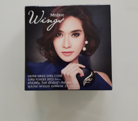Пудра Mistine Wings Extra Cover Super Powder SPF 25PA++ 65 гр.
