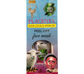 Пилинг-маска с Плацентой Thai Kinaree Placenta Peel-Off Mask