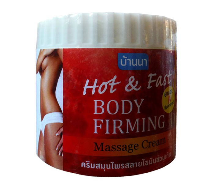 Антицеллюлитный Крем Banna Hot And Fast Body Firming Massage Cream (500 Мл)(1)