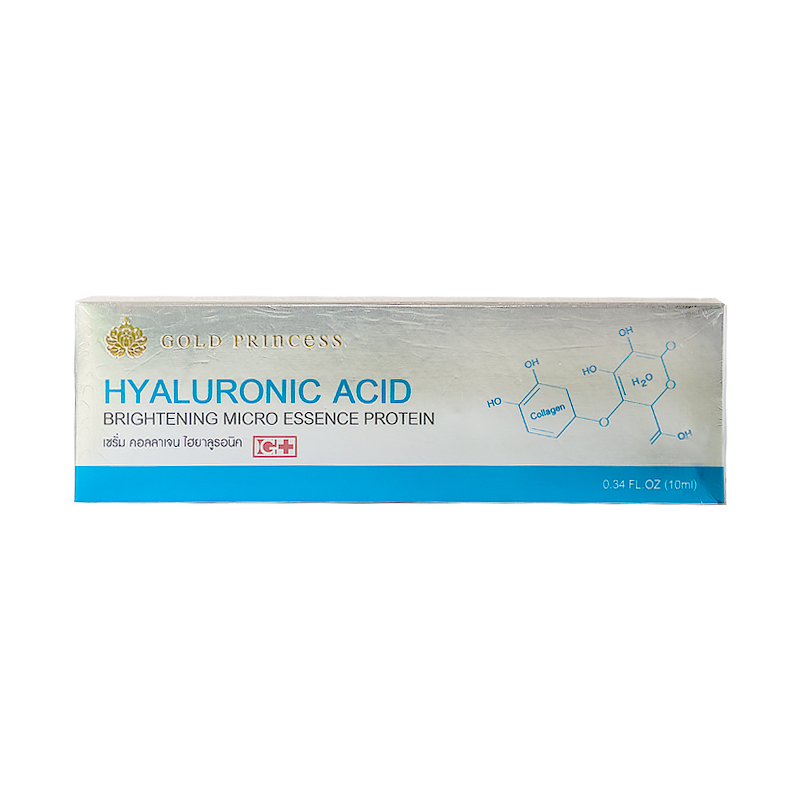 Гиалуроновая Кислота Для Лица Hyaluronic Acid For Face Gold Princess (10Мл)(1)